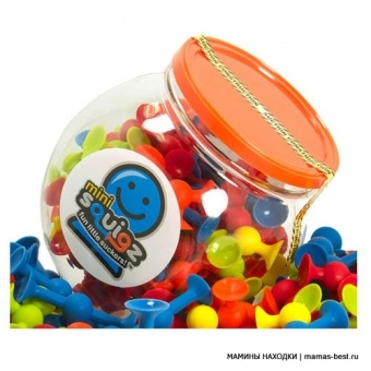 Конструктор Mini Squigz Fat Brain Toys FBT-FA107-1