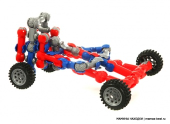 Конструктор ZOOB Dragster Infinitoy 12054