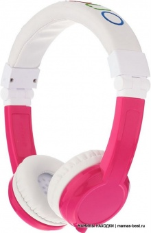 Наушники детские Explore Foldable with Mic Pink LUNII BP-EX-FD-PINK-01-K